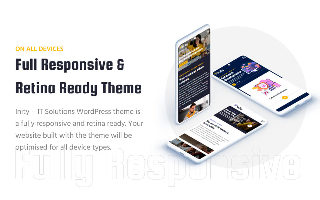 Inity – IT Solutions and Technology responsive and retina ready WordPress Theme